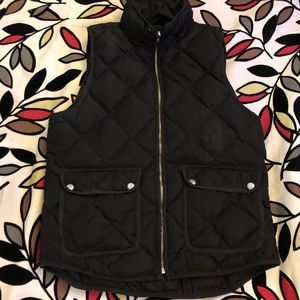 Woolrich Womens Black Insulated Vest